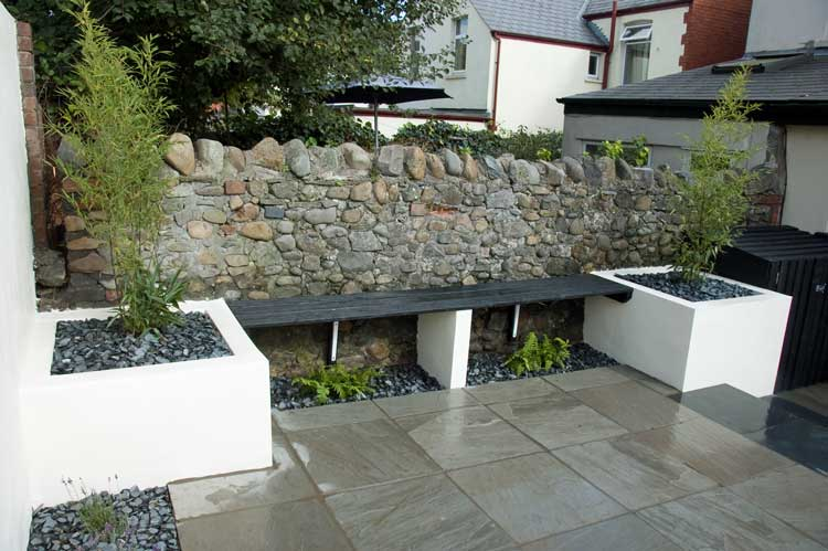 All Square Garden Design