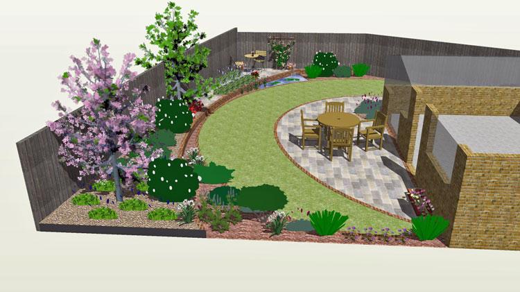 Crescent Layers Garden Design Rogerstone Gardens Cardiff