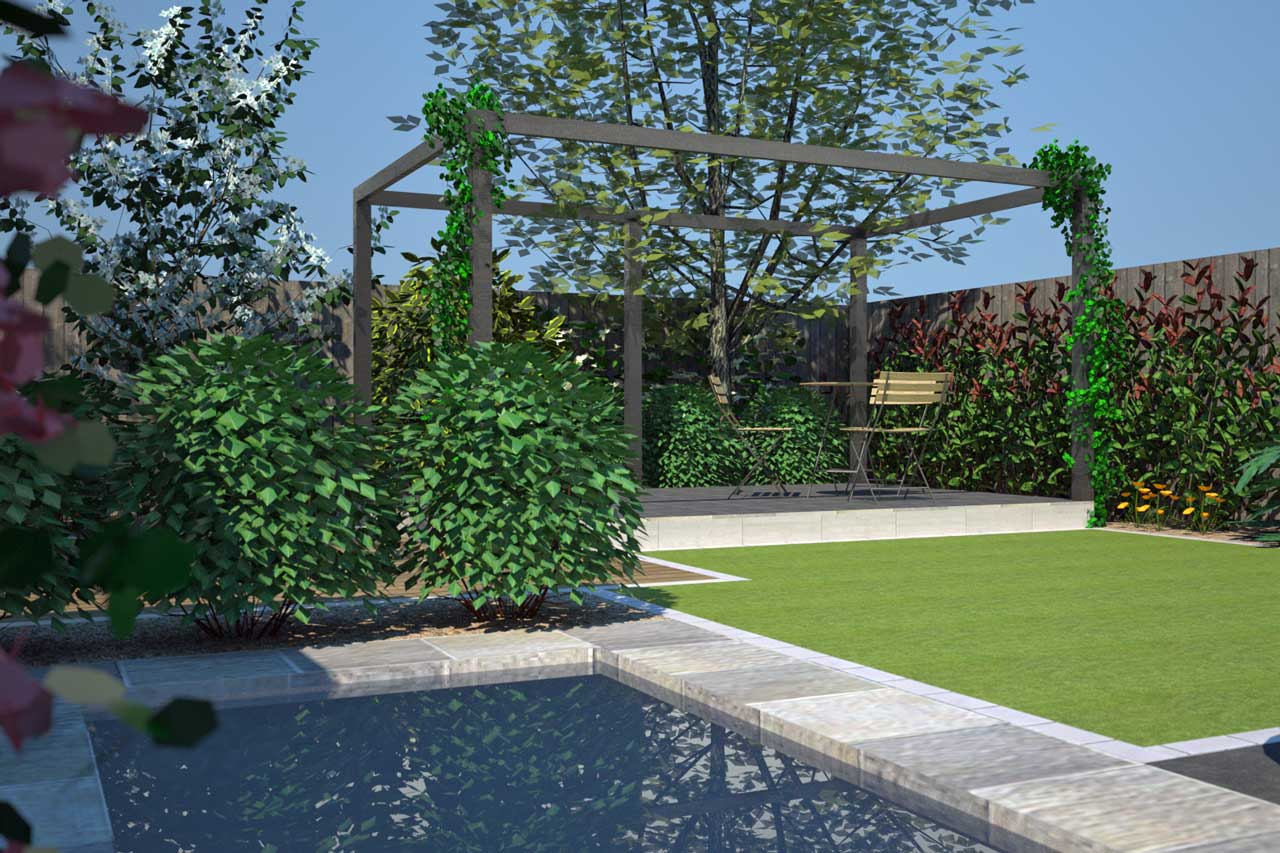 New photo realistic rendering software rogerstone for 3d garden designs