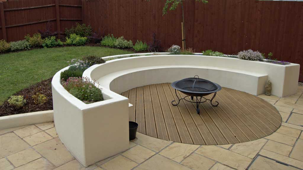 Selection Of Integrated Garden Benches Rogerstone